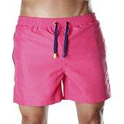 Durable Men's Pink Swim Shorts,  Trunks & Beachwear Shorts