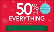 Get 50% off discount men's clothing coupons
