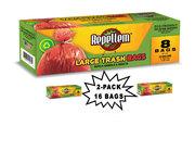 Repellem Large Kitchen Trash Bags -2PK