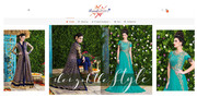Designer suits and Gowns Anarkali and Palazzo Suits Ethnic ladies wear
