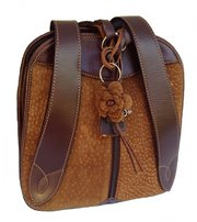 Carpincho Capybara Leather Bag Pack - Argentinian For $165