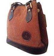 Argentinian Carpincho Capybara Leather Shoulder Bag For $155