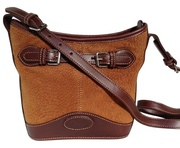Capybara Front Buckle Purse Shoulder Bag For $115